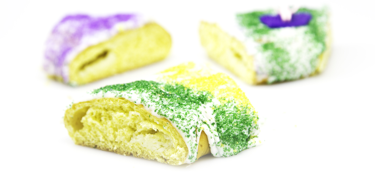 KING CAKES HAVE ARRIVED