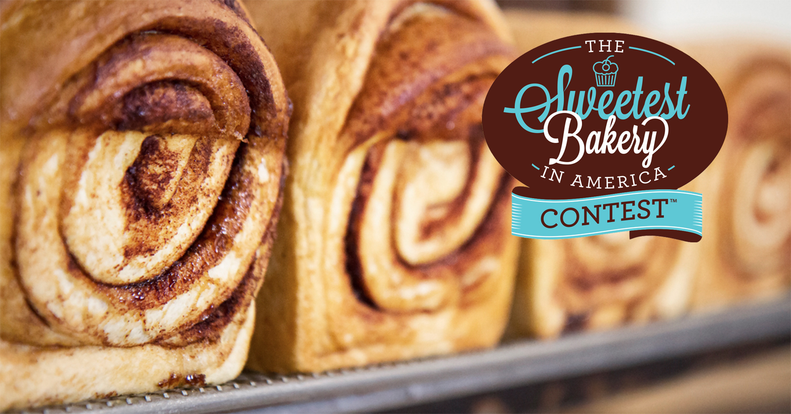 We're participating in the Sweetest Bakery in America Contest!