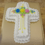 easter cross cakes