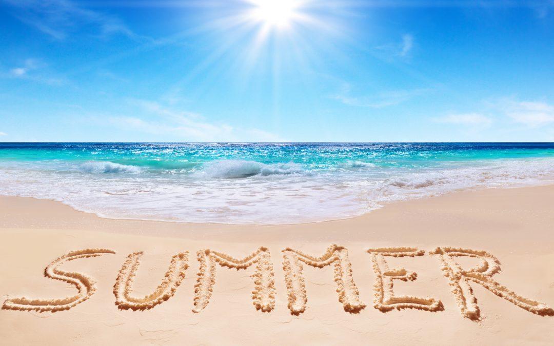 Sweet, Sweet Summer is Here!