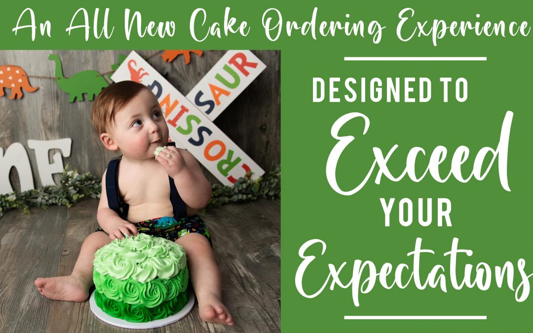 An All-New Cake Ordering Experience